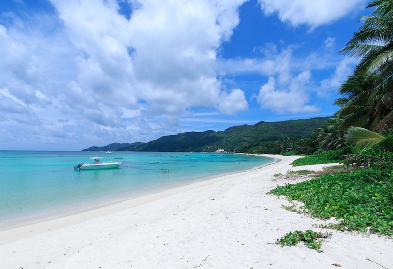 Coco Blanche, Mahe, Pláž