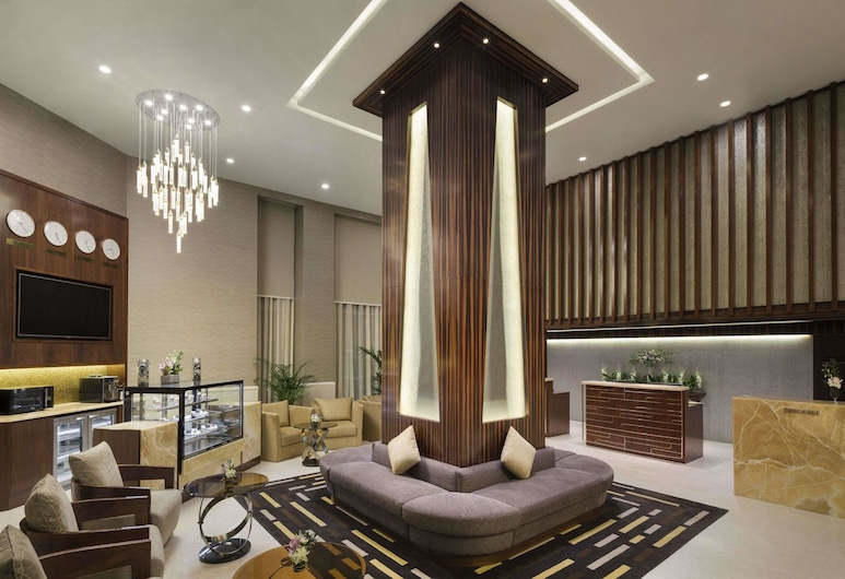 Hawthorn Suites by Wyndham Abu Dhabi City Centre, Абу-Даби, Вестибюль