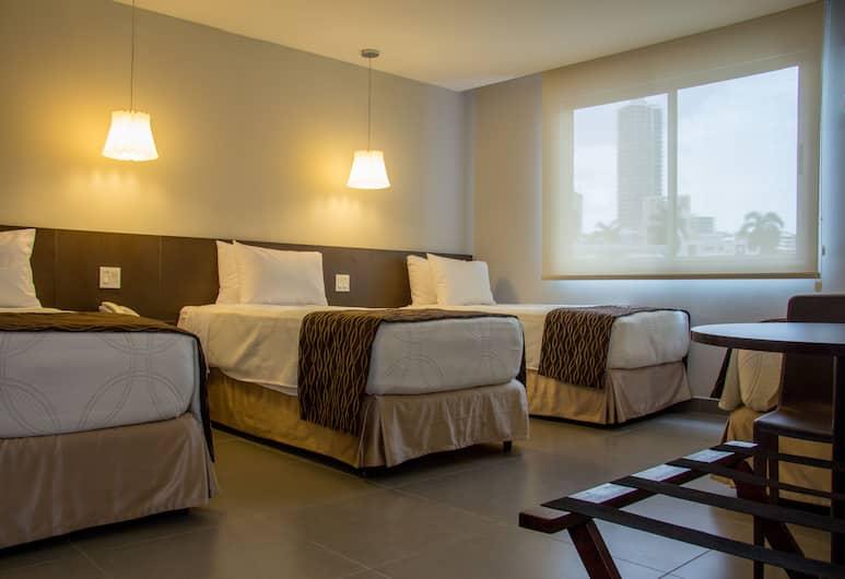 Hotel Ojos del Rio, Ciudad de Panamá, Habitación estándar con 2 camas individuales, 3 camas individuales, Habitación