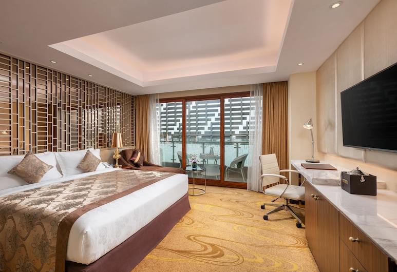 Best Western Chinatown Hotel, Yangón, Habitación Premier, 1 cama doble, balcón, vistas a la ciudad, Habitación