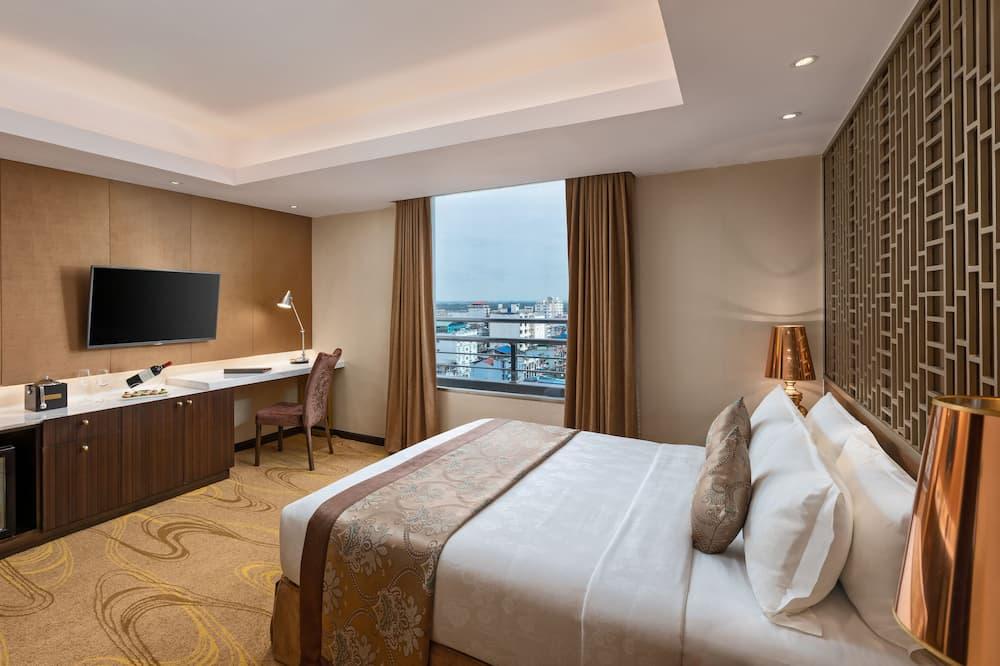 Suite, 1 tweepersoonsbed, niet-roken - Uitzicht op stad