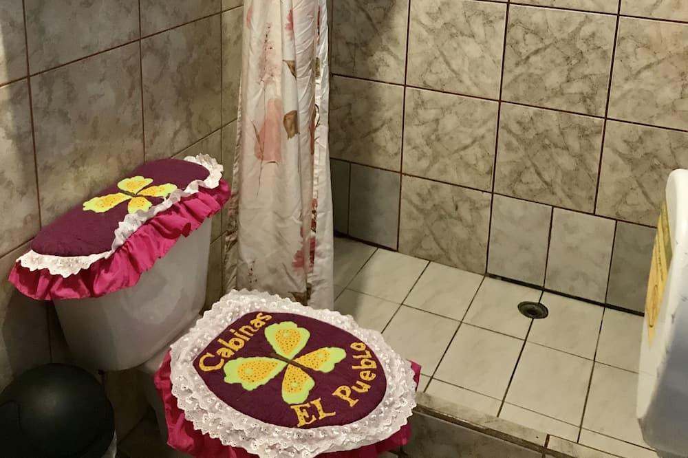 이코노미 더블룸, 전용 욕실 - 욕실