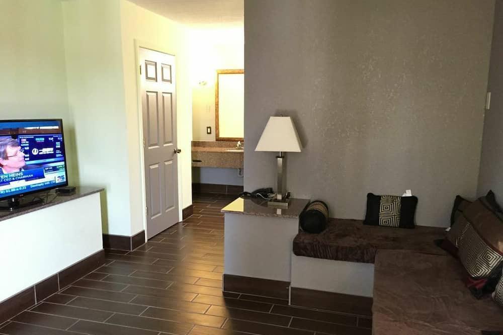 Suite estándar, 1 cama King size - Sala de estar