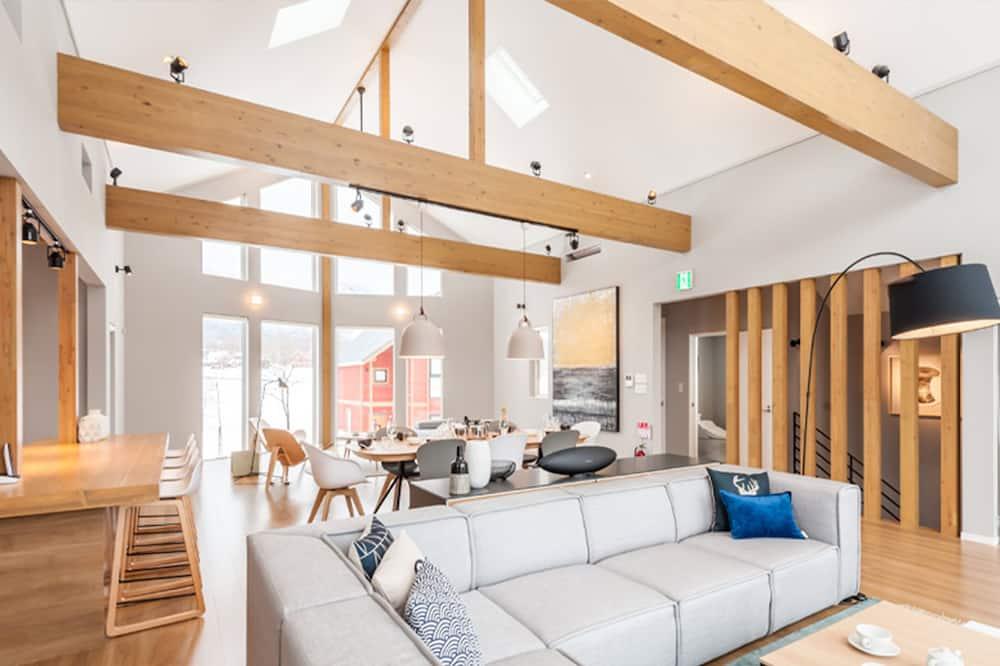 舒適木屋, 3 間臥室 - 客廳