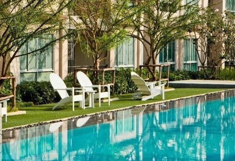 班邦普倫 A712 酒店 (華欣渡假公寓式客房), Hua Hin, 室外泳池