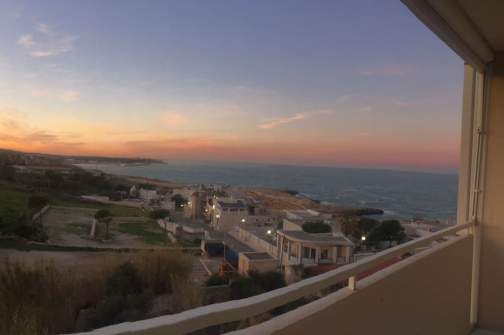 Apartament typu Deluxe, 2 sypialnie, widok na morze - Balkon