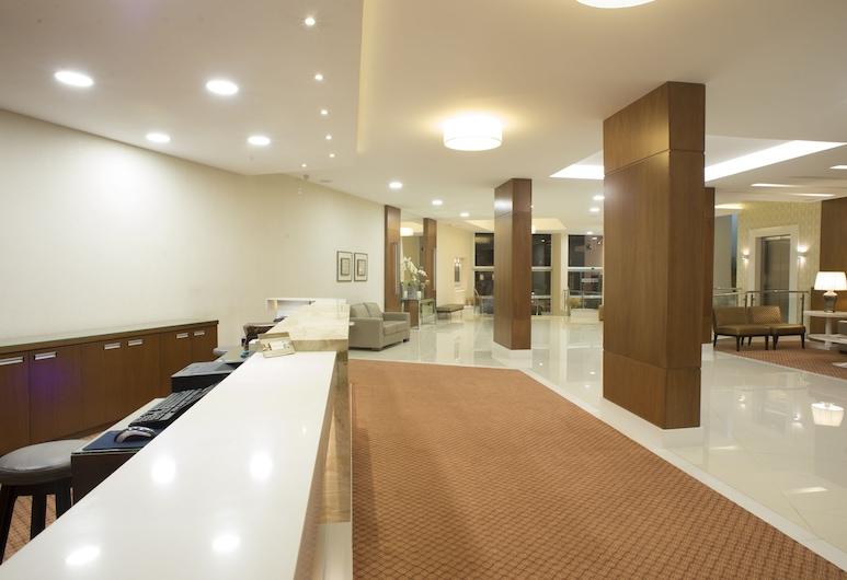 Casablanca Center Hotel, Petrópolis, Recepção