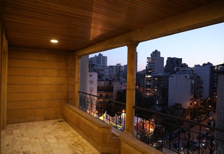 Viccini Suites Hotel, Beirut, Apartment, 3 Bedrooms, Terrace/Patio