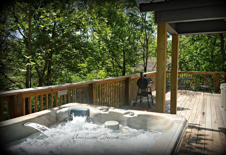Cove Creek Cottage, Sevierville, Terraza o patio