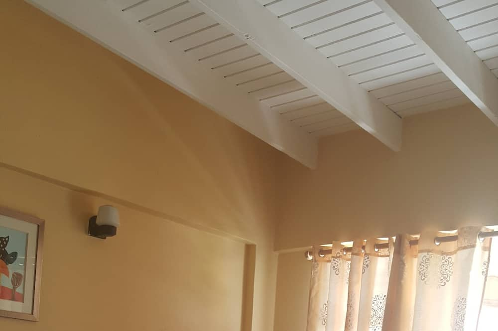 スーペリア アパートメント 1 ベッドルーム 簡易キッチン - リビング エリア