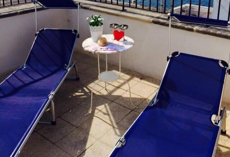 B&B Petali Rosa, Polignano a Mare, Doppelzimmer zur Einzelnutzung, Terrasse/Patio
