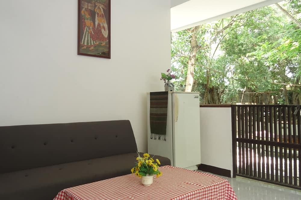 House, 1 Bedroom, Garden Area - Living Area
