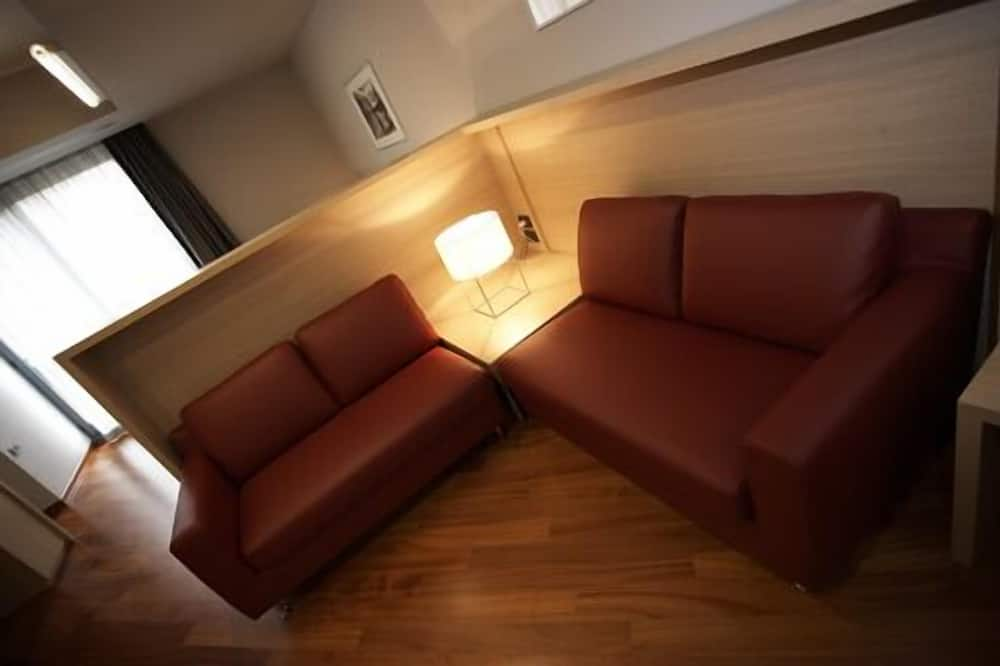 Estudio, 1 cama doble, cocina básica - Sala de estar