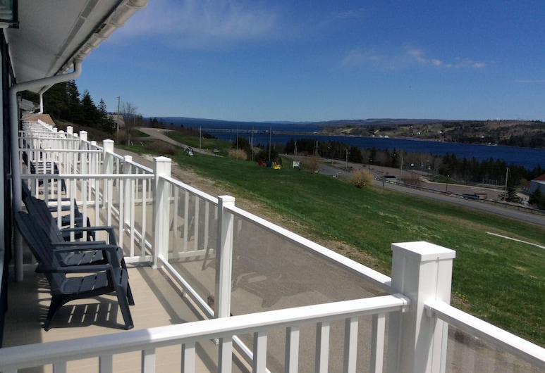 The Iona Heights Inn, Iona, Camera Premium, 2 letti matrimoniali, balcone, vista lago, Balcone