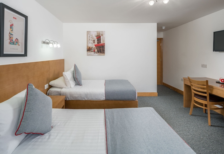Flexistay Aparthotel Sutton, Satonas, Standartinio tipo dvivietis kambarys (2 viengulės lovos), Svečių kambarys