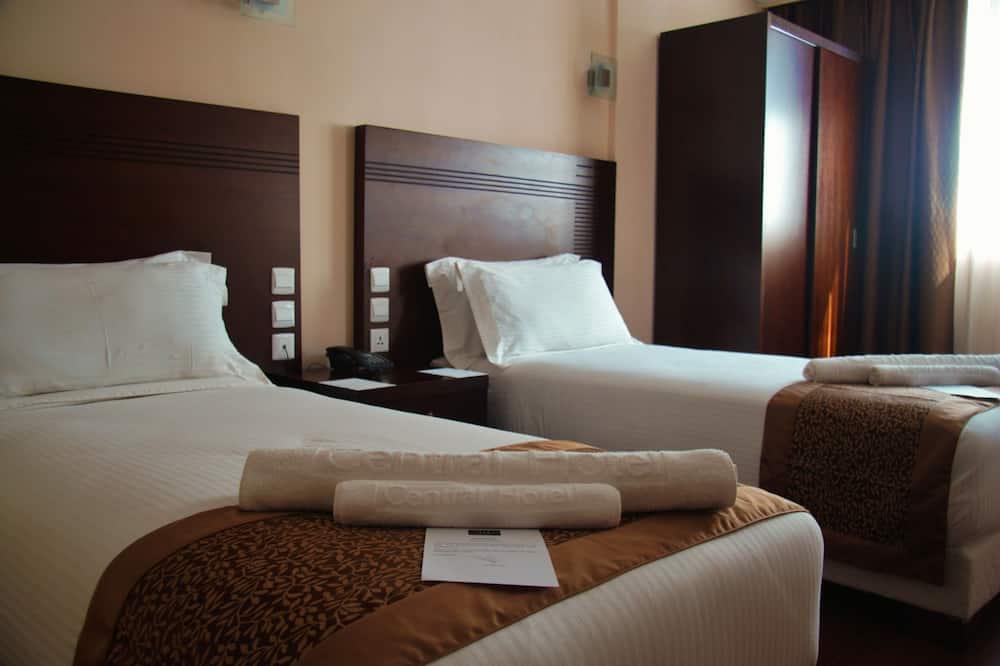 Dvivietis kambarys (2 viengulės lovos), Rūkantiesiems - Svečių kambarys