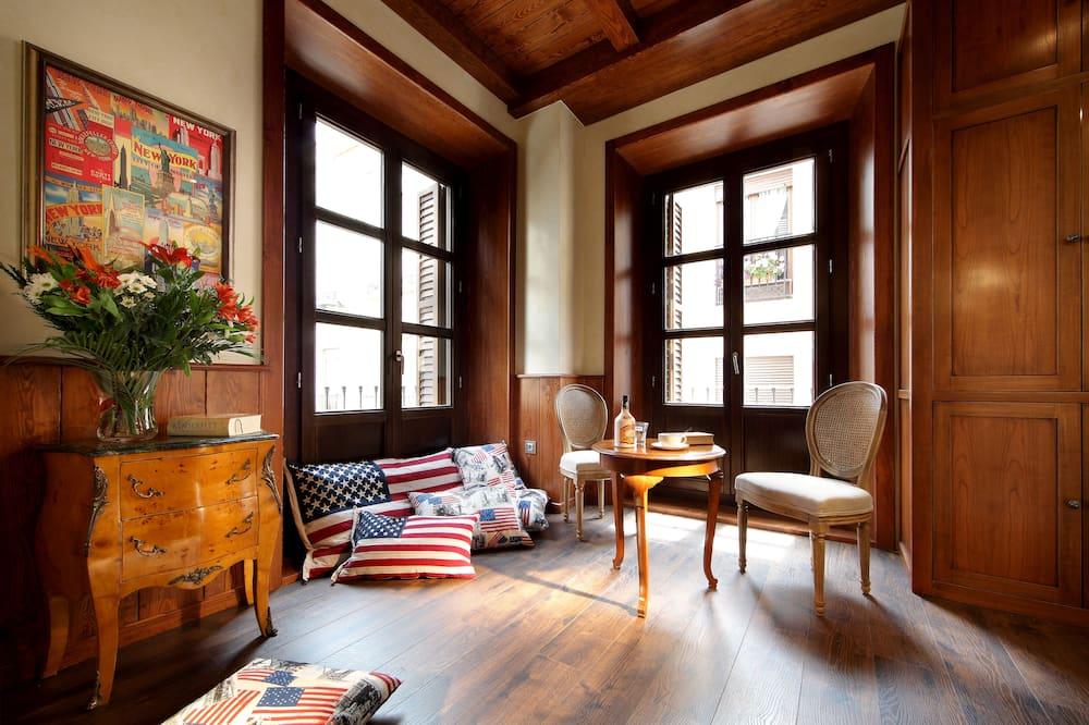 Kahden hengen huone (Americana) - Olohuone
