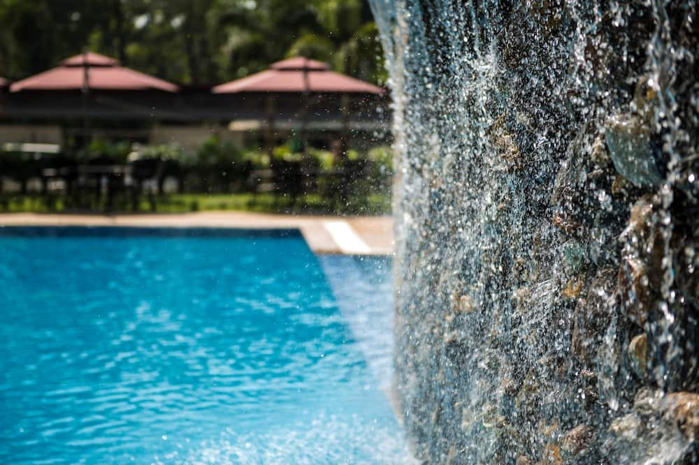 Pool Waterfall