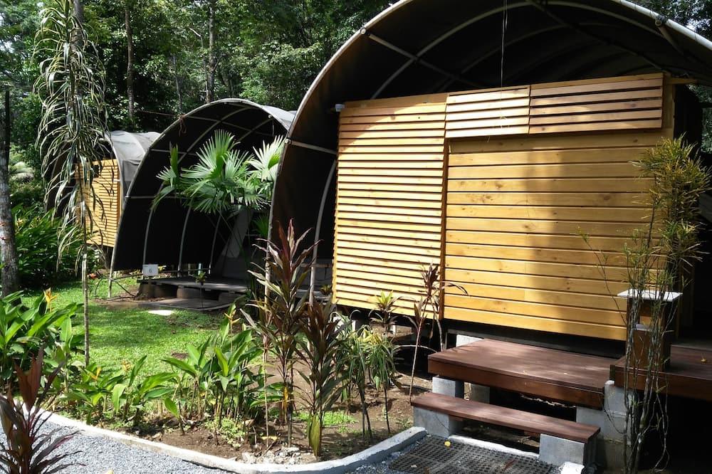 Jungle Tent - 1 Bedroom, Private Bathroom - Woonruimte