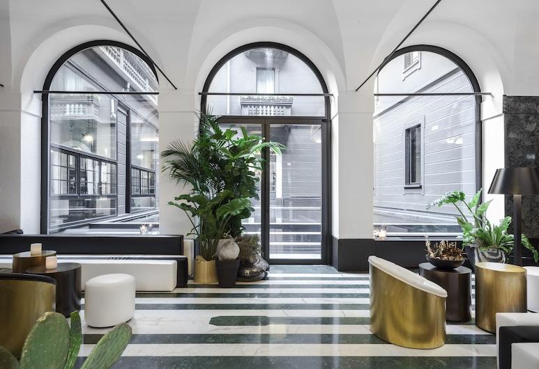 Senato Hotel Milano, Milan, Lobby Lounge
