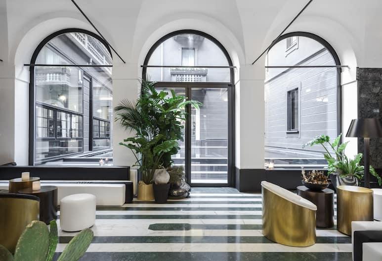 Senato Hotel Milano, Milan, Lounge Lobi
