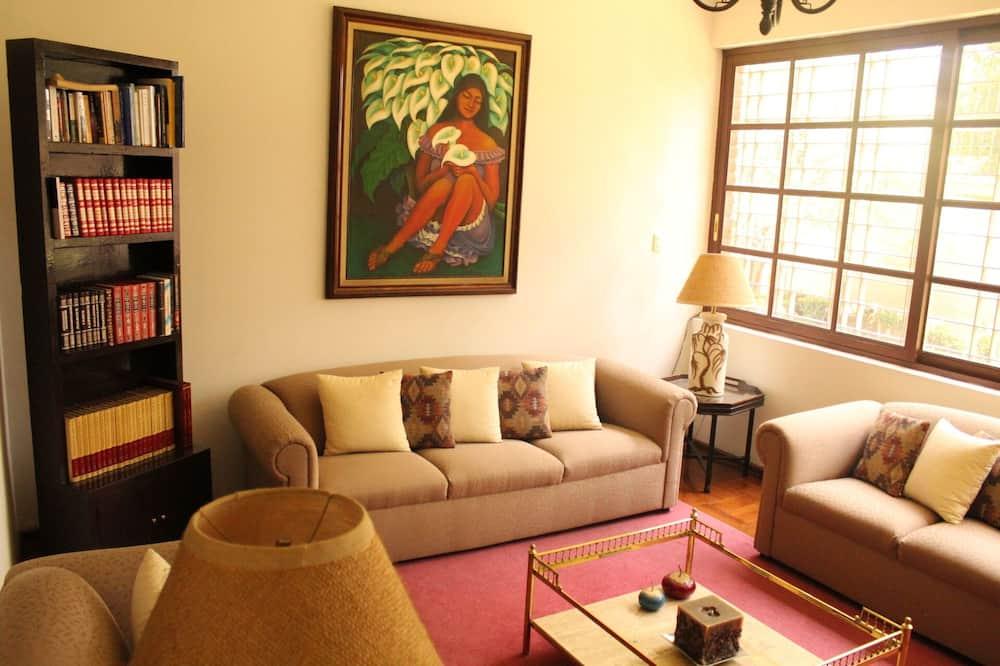 Suite Individual - Oturma Alanı