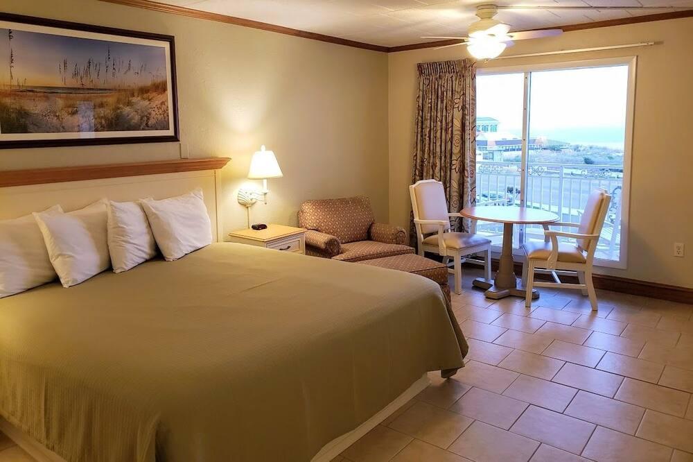 Standard Room, 1 Katil Raja (King), Ocean View - Bilik Tamu