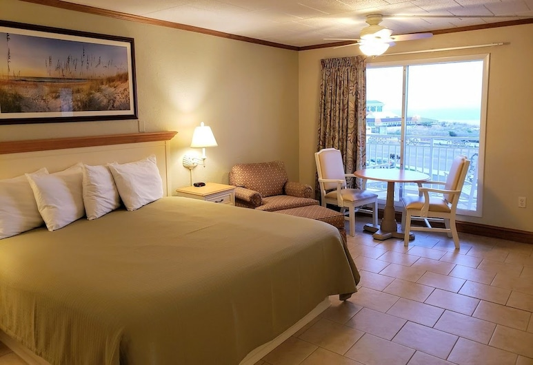 Avondale by the Sea Motel, Cape May, Standard Room, 1 King Bed, Ocean View, Guest Room