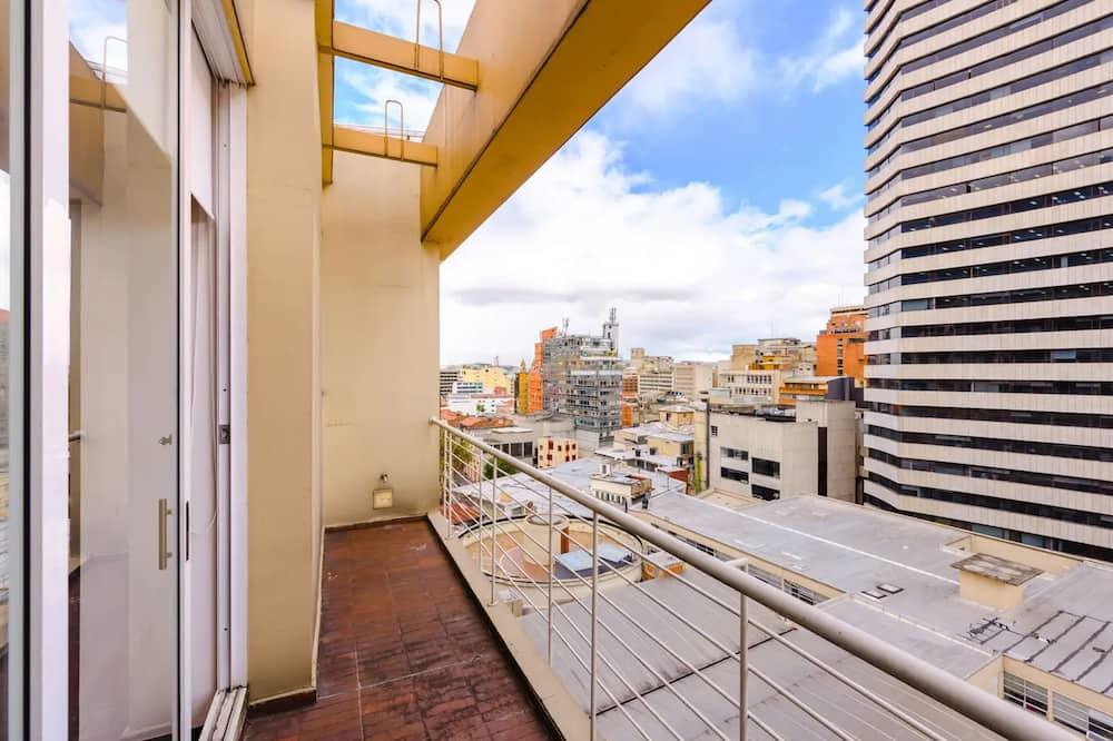 Класичний дюплекс, 2 двоспальних ліжка - Балкон