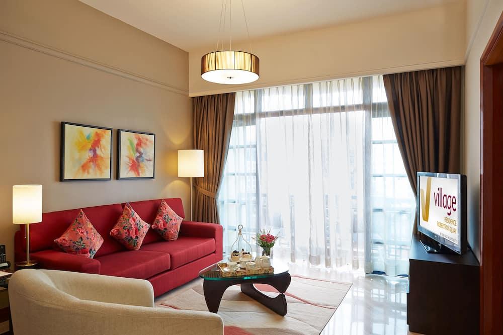 Lägenhet - 3 sovrum (Breakfast on weekdays only except P.H) - Vardagsrum