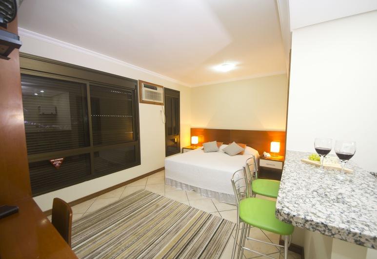 Metropolis Apart Hotel, Porto Alegrė, Liukso klasės dvivietis kambarys, Svečių kambarys