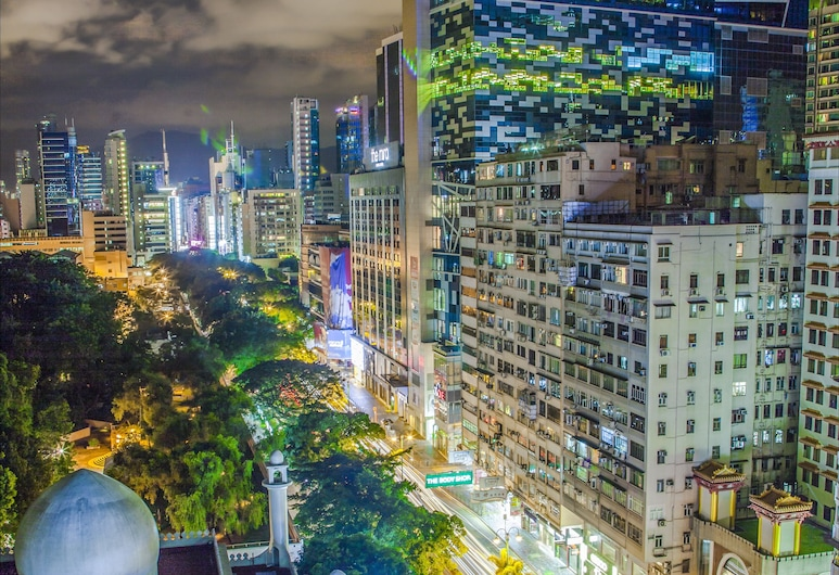 Urban Pack, Kowloon, 8 bed mixed dorm (shared bathroom) City View, Ausblick vom Zimmer