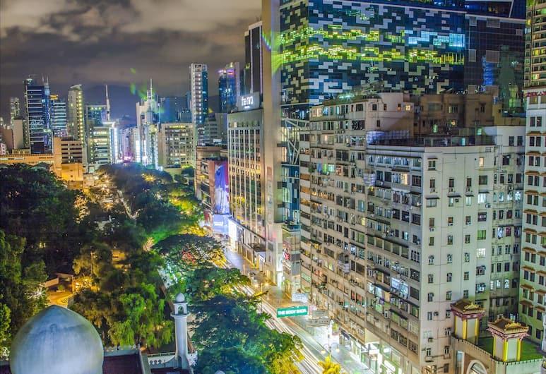 Urban Pack, Kowloon, 8 bed mixed dorm (shared bathroom) City View, Utsikt från gästrum