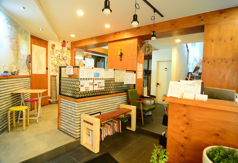 INSADONG hostel, Seoul, Reception