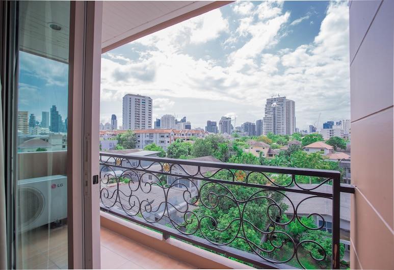 Greenview Ekkamai 10, Bangkok, Pokój dwuosobowy typu Deluxe, Balkon