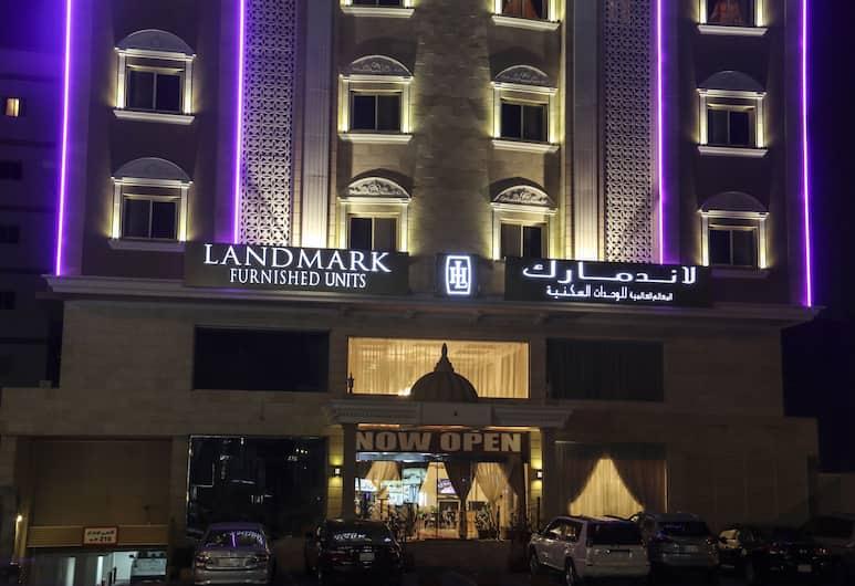 Landmark International Hotel, Jeddah, Jedda, Hotellfasad - kväll