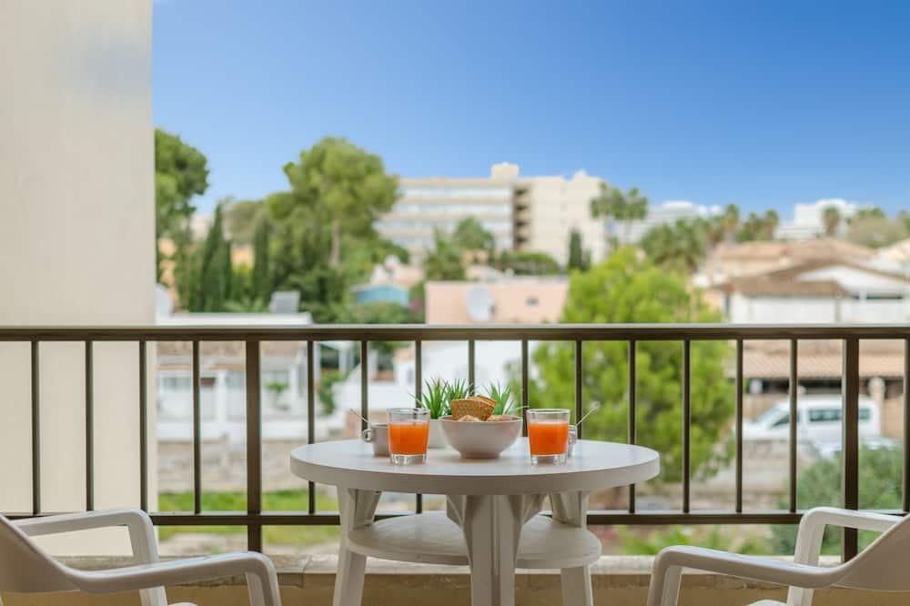 Standaard appartement, Balkon, uitzicht op tuin - Balkon