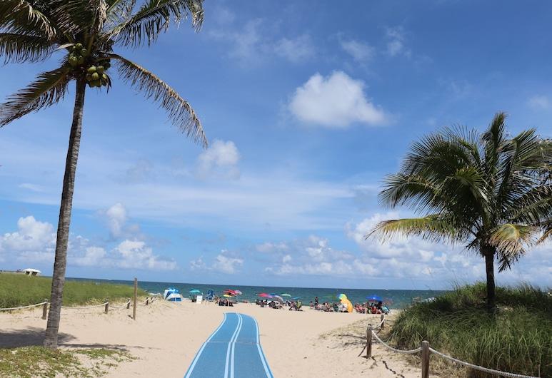 Ocean Mile Hotel, Fort Lauderdale, Pláž