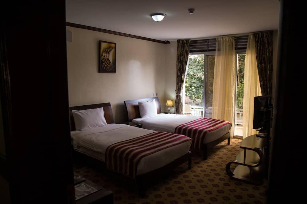 Deluxe - kahden hengen huone - Oleskelualue