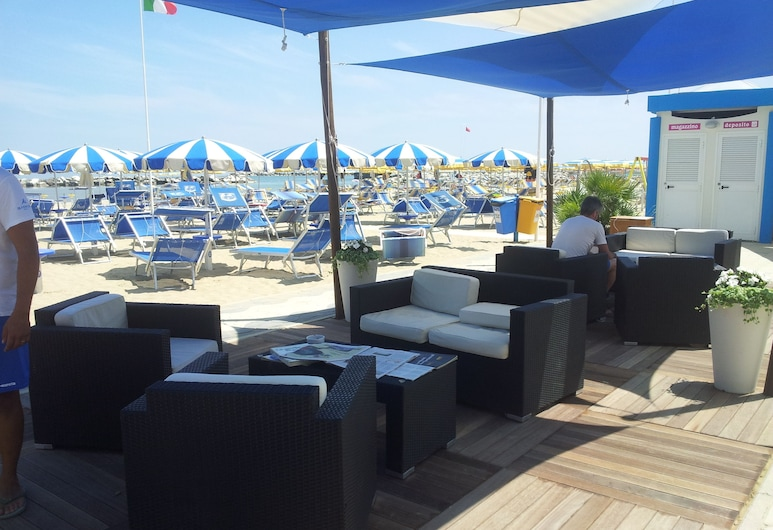 Hotel Vienna, Bellaria-Igea Marina, Pláž