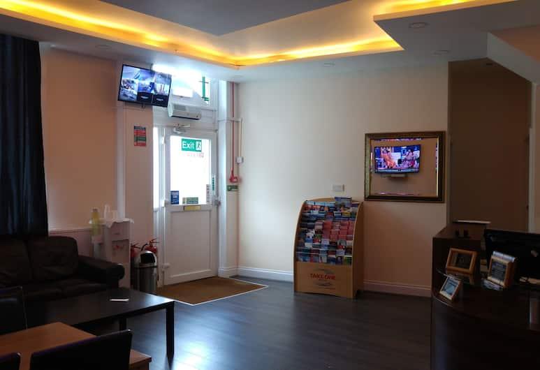 City View Hotel Stratford, Londýn, Vstupní prostor zevnitř