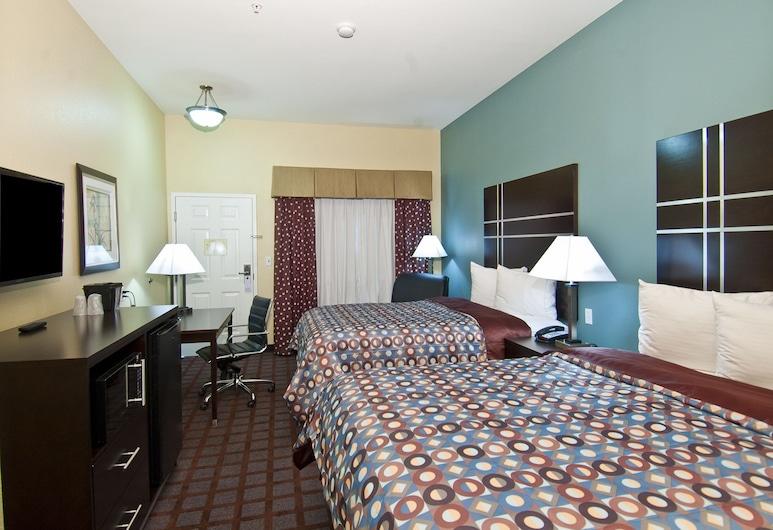 Executive Inn and Suites Tyler, Tyler, Tweepersoonskamer, 2 queensize bedden, niet-roken, Kamer