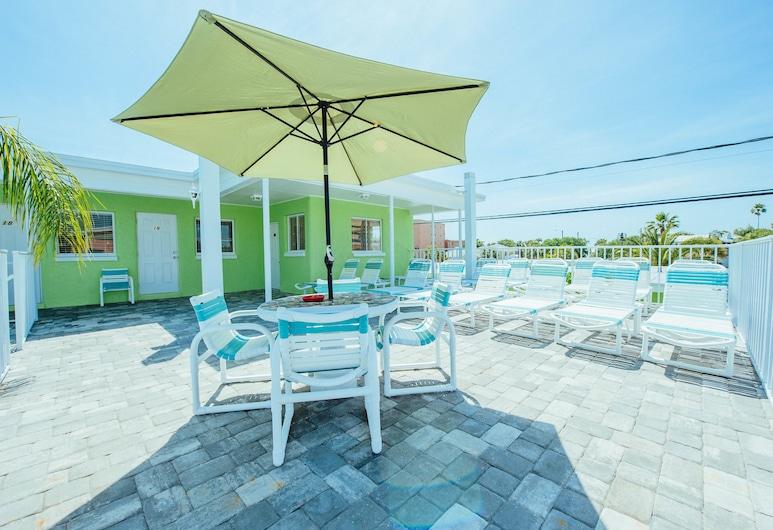 Brightwater Suites on Clearwater Beach, Clearwater Beach, Terraço/Pátio Interior