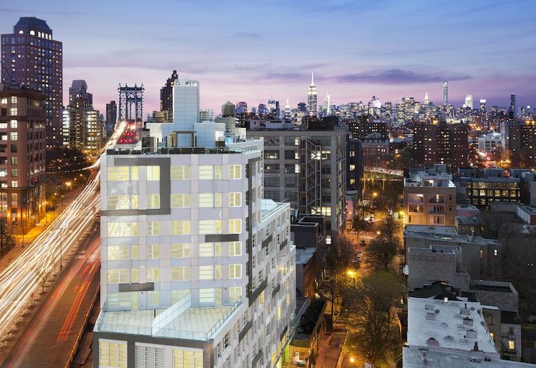 The Tillary Hotel, Brooklyn, Hotel Front – Evening/Night