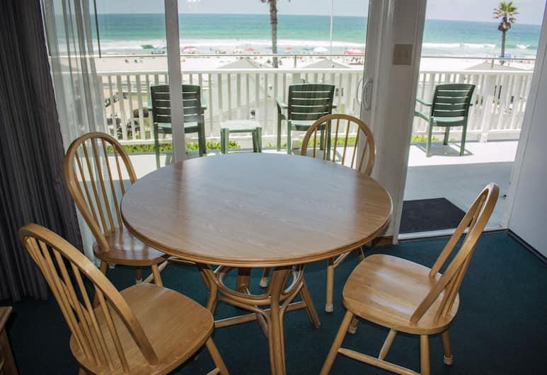 The Beach Cottages, סן דייגו, דירה, מיטת קווין וספה נפתחת, מטבח, נוף לאוקינוס, אזור מגורים