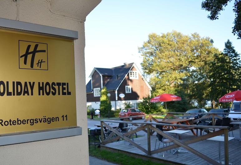 Holiday Hostel, Sollentuna, Terraza o patio