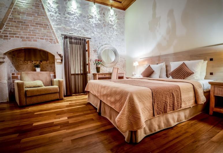 Leo Hotel, Rethymno, Classic Double Room, Bilik Tamu