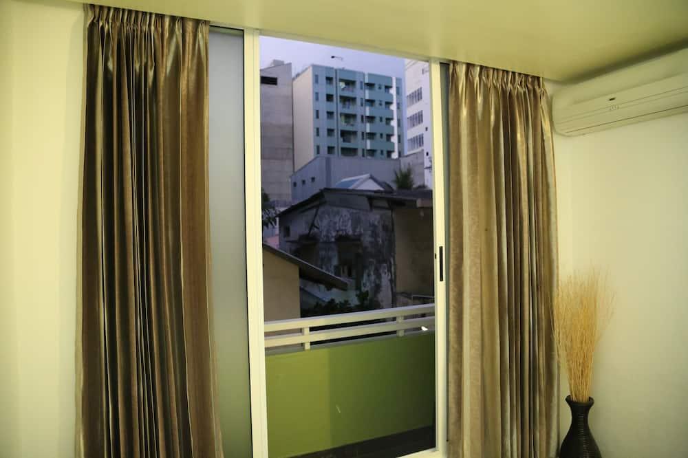 디럭스 더블룸 또는 트윈룸, 시내 전망 - 발코니