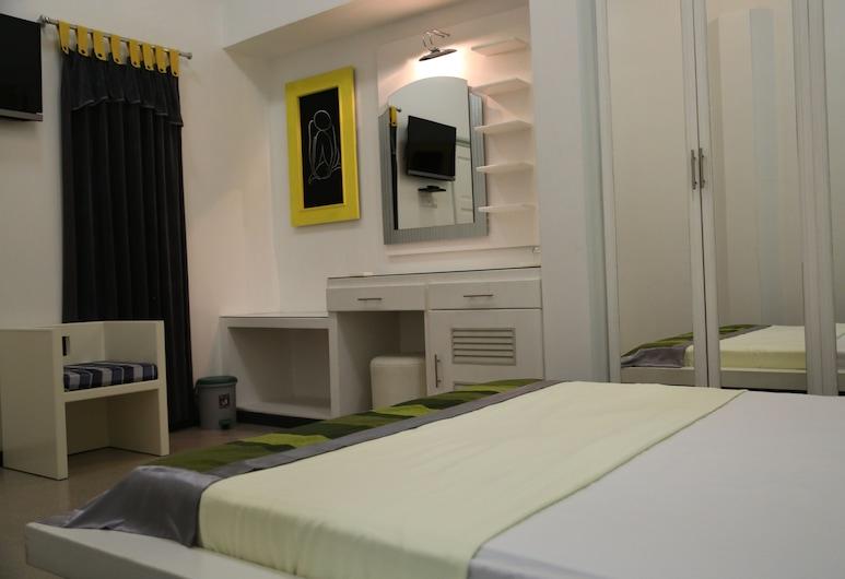 Tour Rest Inn, מאלה, חדר סטנדרט זוגי או טווין, נוף לעיר, חדר אורחים