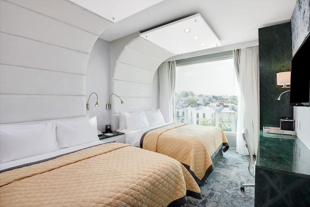 חדר דה-לוקס, ללא עישון - חדר אורחים